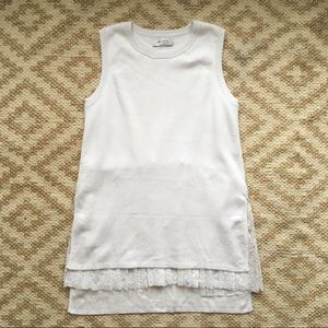 New Bailey 44 Sleeveless Sweater Top Sz Med